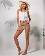 Tropic Tribe Cheeky Pant