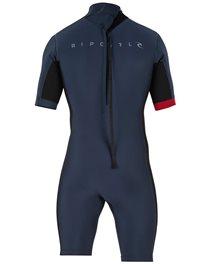 Aggrolite 2mm Short Sleeve Back Zip Wetsuit Spring