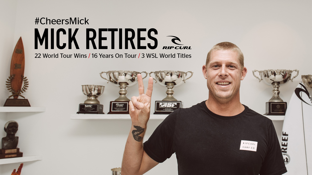 3x World Champion Mick Fanning Announces His Retirement From The WSL World Tour