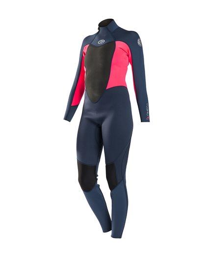 Women Omega 3/2 Back Zip - Wetsuit
