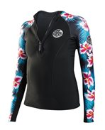 G Bomb Long Sleeve Front Zip - Wetsuit Jacket