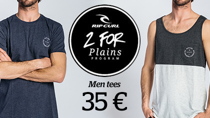 2 Tees for 35 €