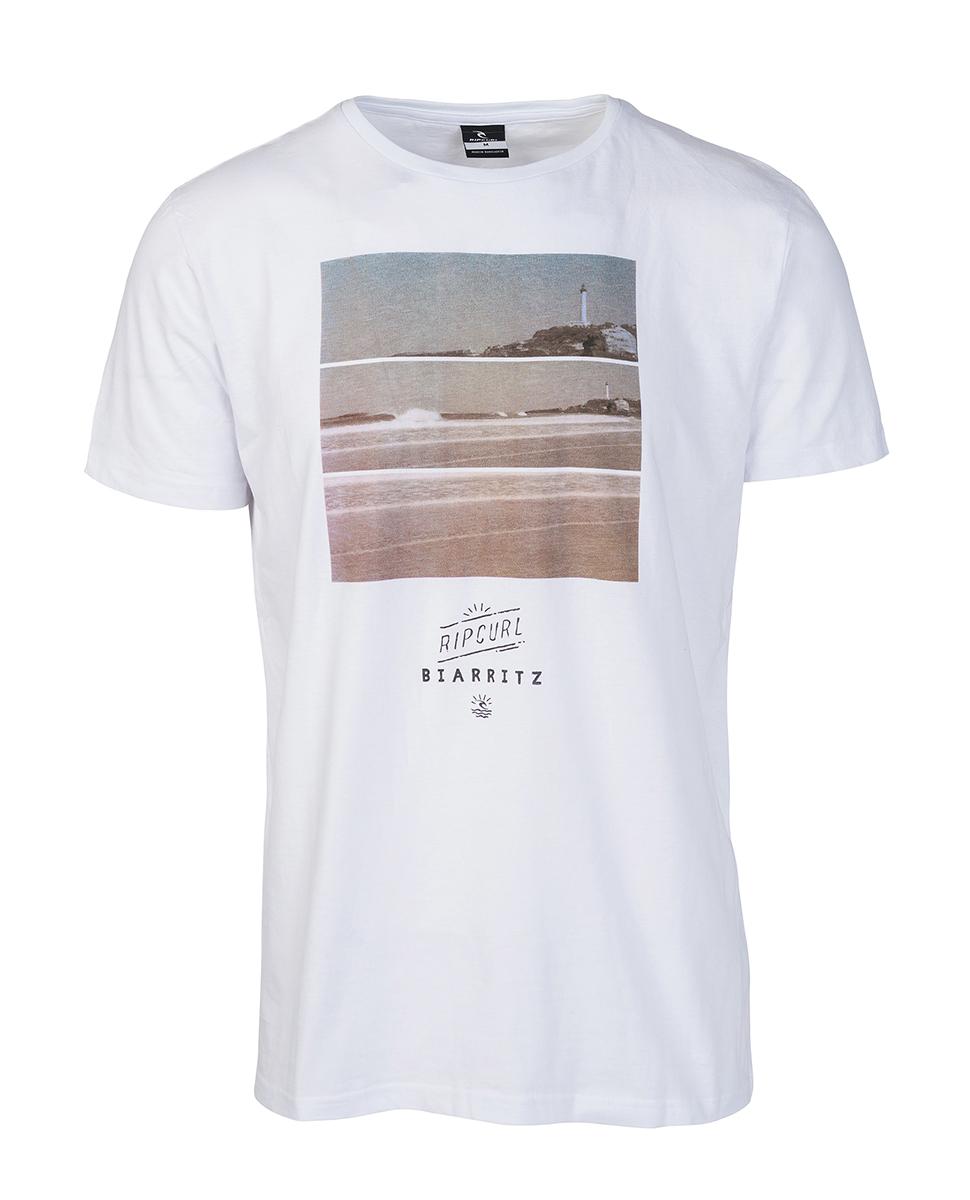 biarritz line up tee t shirts homme t shirts de surf et de plage rip curl france. Black Bedroom Furniture Sets. Home Design Ideas