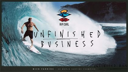 Mick Fanning's Unfinished Business