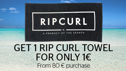 1 towel for only 1€ from 80€ purchase
