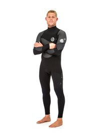 Flashbomb Heat Seeker 4/3 Zip Free   Wetsuit