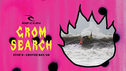 2018 European GromSearch Series Stop #8- Croyde Bay, UK