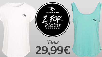 2 Womens Tees for 29.99 €
