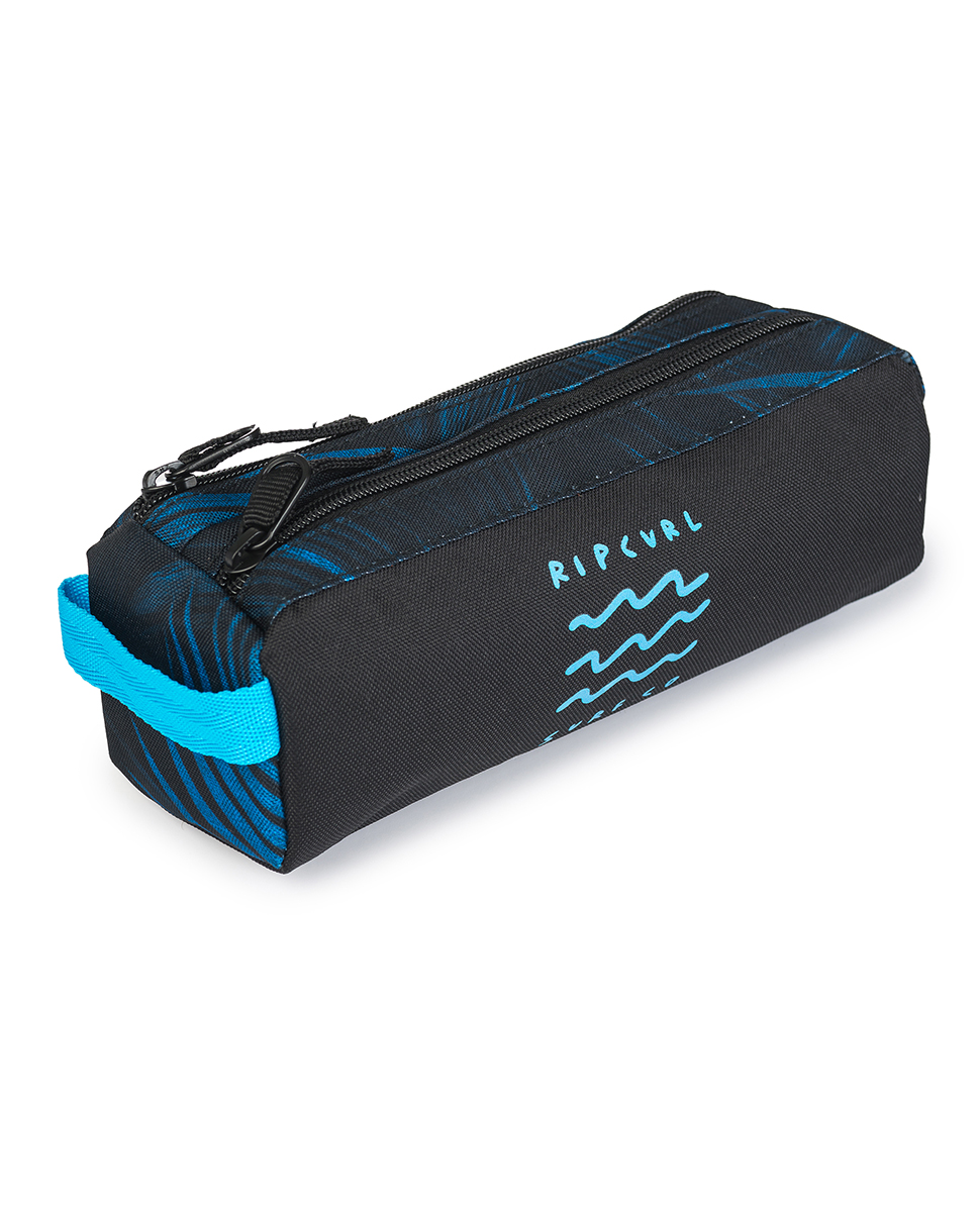 Pencil Case 2 compartments Glow Wave