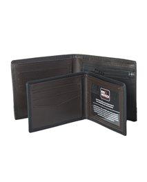 Portefeuille à rabat 2 en 1 RFID