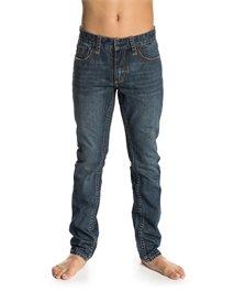 Pantalon denim Basic garçon