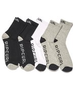 Rip Surfco Crew Socks pack 3 pieces