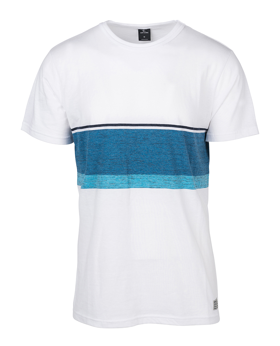 Yarn Dyed Stripe Men Short Sleeve Tee