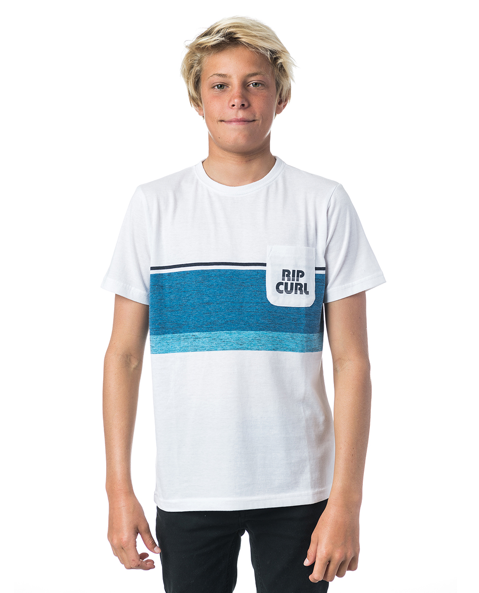 Yarn Dyed Stripe Boy Ss Tee