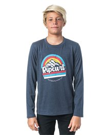 Rainbow Mountain Long Sleeve Tee
