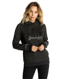 Beach Lover Hooded Fleece