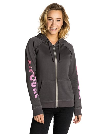 Palms Zip Thru Hooded Fleece