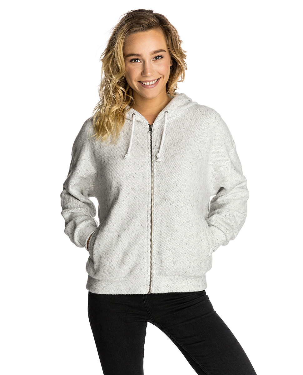 Easy Life Hooded Zip Thru Fleece