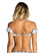 Waves Lines Bandeau Top
