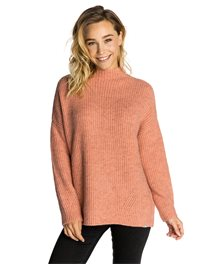 Breeze Hi Neck Crew Sweater