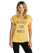Vapor Cool Made For Waves Tee