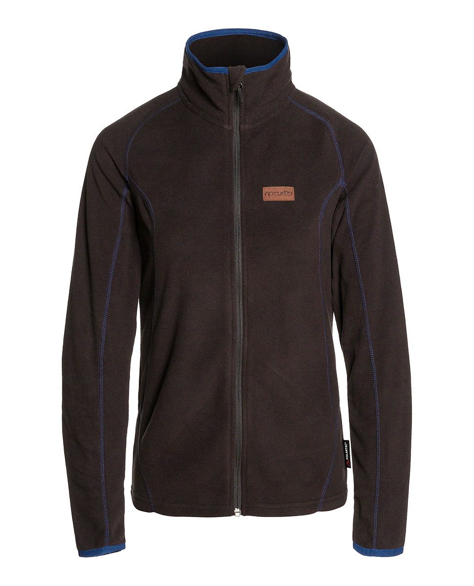 Micro W Fleece Front Zip