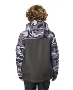 Snake Printed Snow Jacket