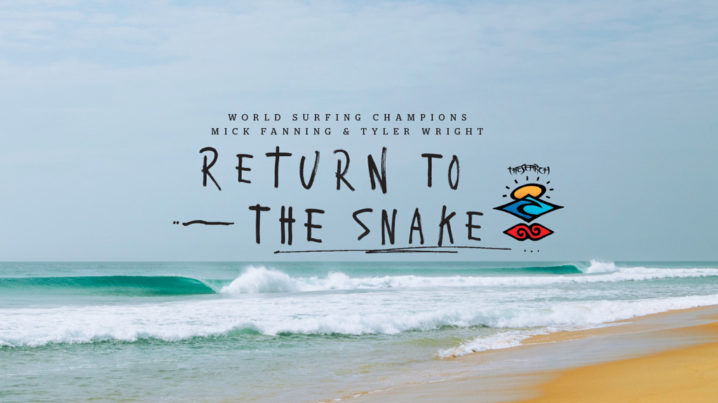 Ain't No Wave Pool: Mick Fanning and Tyler Wright Return to The Snake