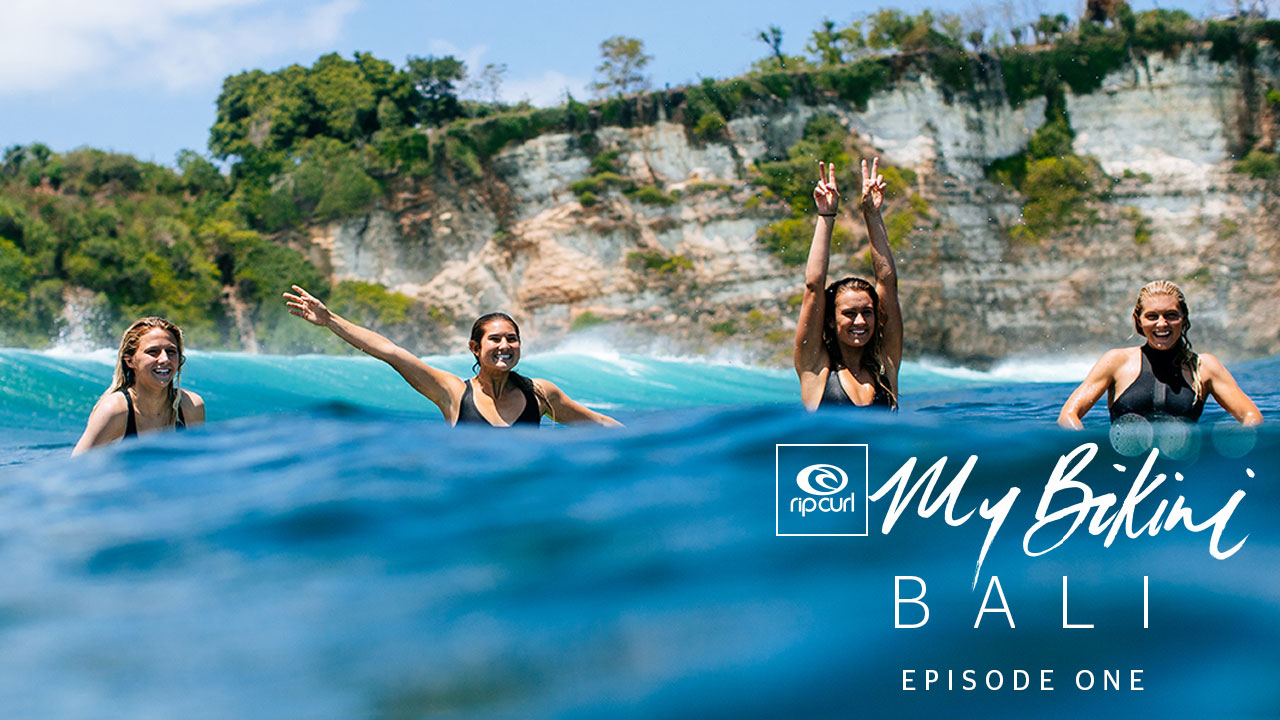Go Behind the Scenes with the Rip Curl Women in Bali