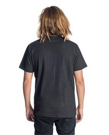 Worn Black Resin Short Sleeve - Tee