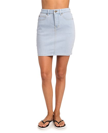 Classic III - Denim Skirt