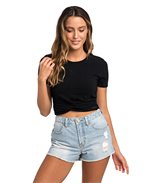 T-shirt Crafted Crop