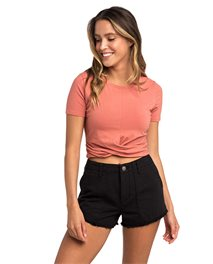 Crafted - Crop Tee