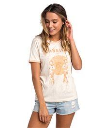 Camiseta Hula Moon Ringer