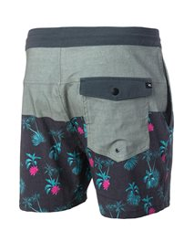 Retro Deep Jungle 16'' - Boardshort
