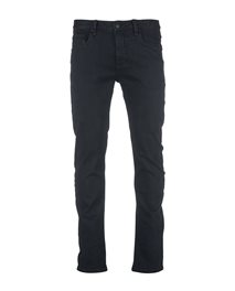 Slim Salt Black Denim