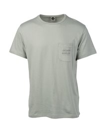 Organic Plain Short Sleeve Pocket - Tee