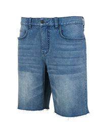 Salt Blue Denim Walkshort