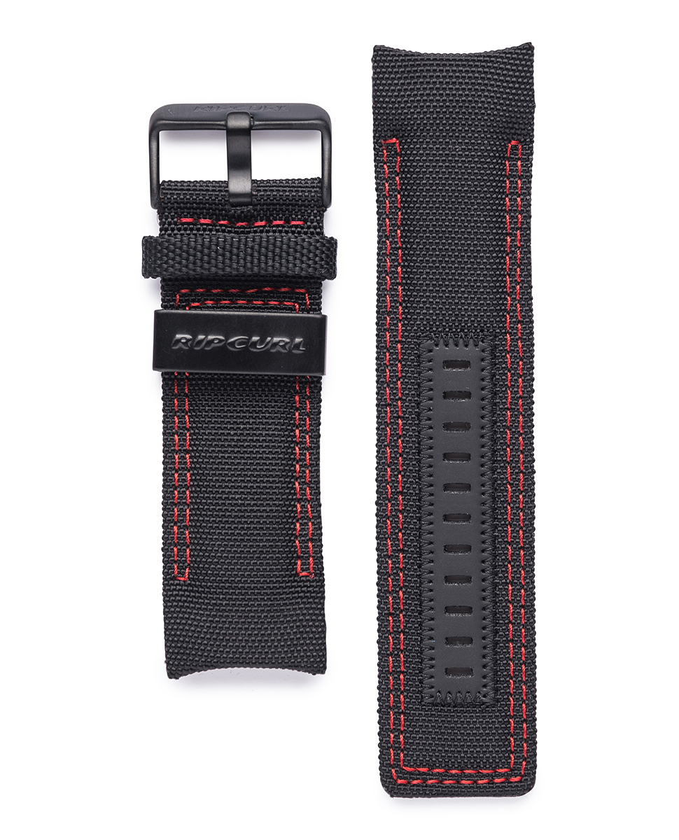 Watch strap black B2297 Rip Curl