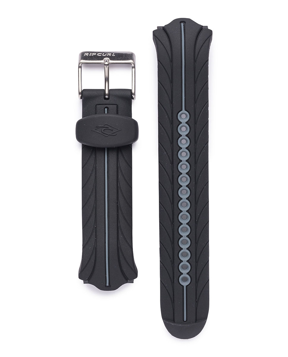 Watch strap black  B7320 Rip Curl