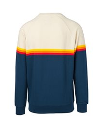 Sweat Rainbow Stripe Crewneck