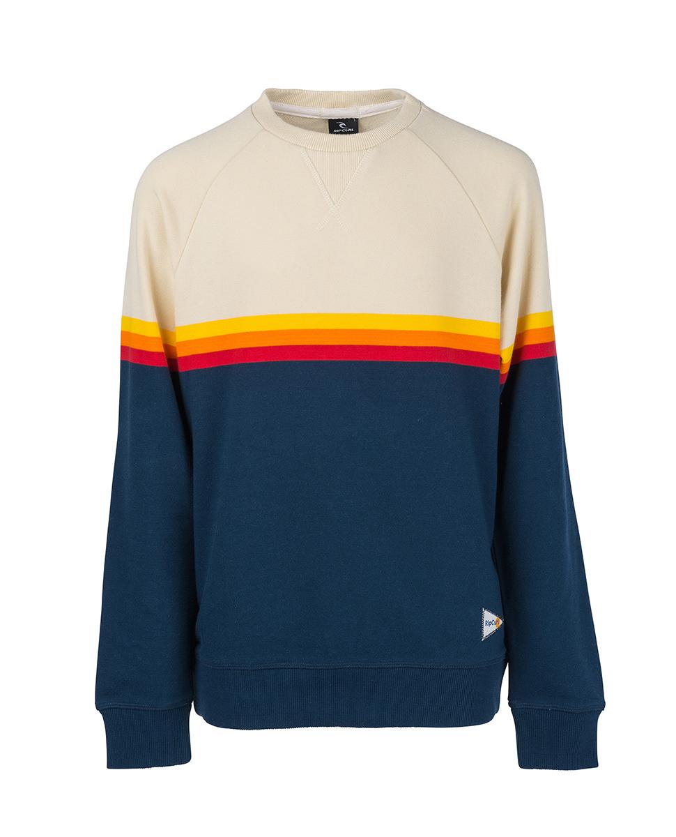 Pull Rainbow Stripe Crewneck | Sweat-shirts