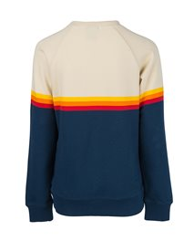 Polar Rainbow Stripe Crewneck