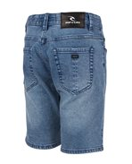 Salt Blue Denim - Walkshort
