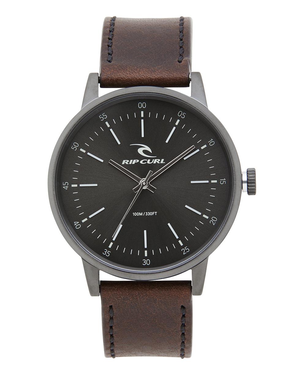 Drake Leather Gunmetal Watch Watch   Relógios Casuais de Praia e de ... 0a40b47f1b