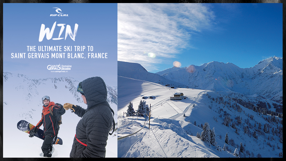 Win the ultimate winter trip to Saint Gervais Mont-Blanc, France