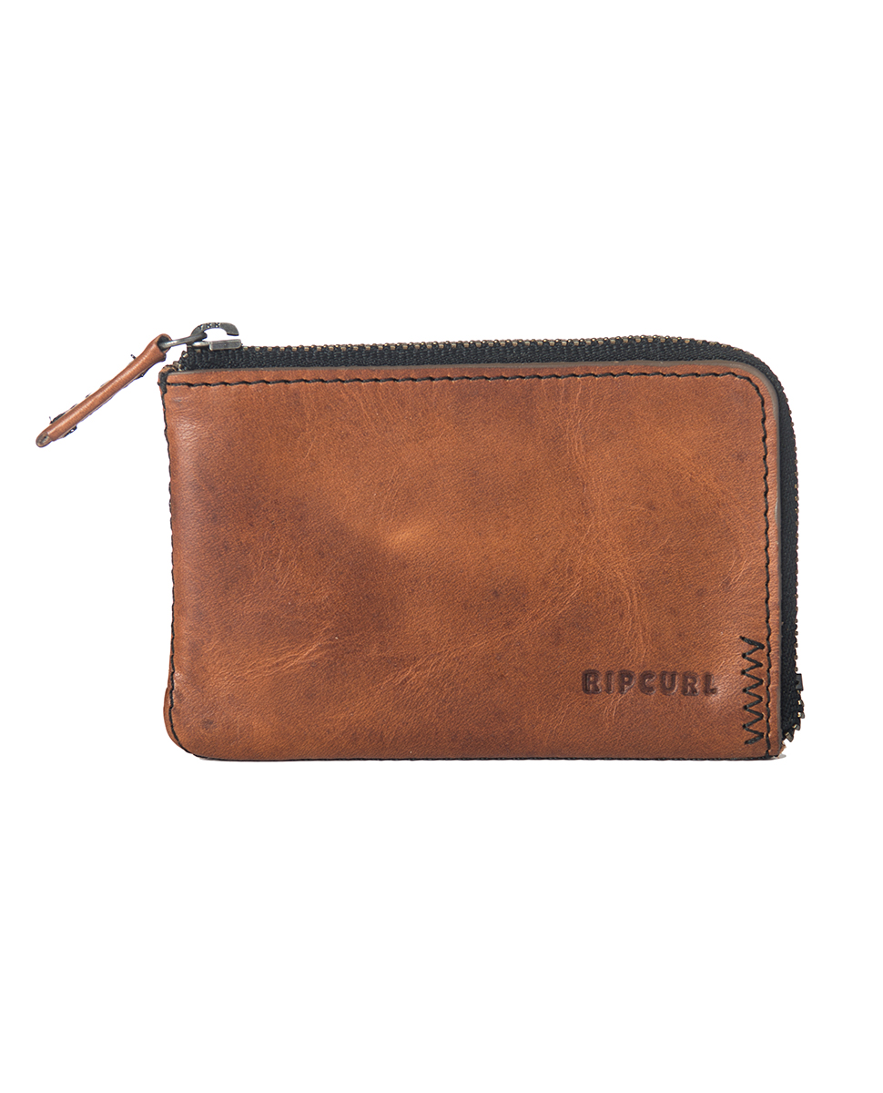1caf5b37375103 Handcrafted Zip Coin Slim - Wallet   Mens Beach Wallets   Fashion Surf  Wallets   Rip Curl Europe Online Store