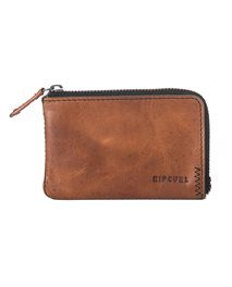 Cartera Handcrafted Zip Coin Slim