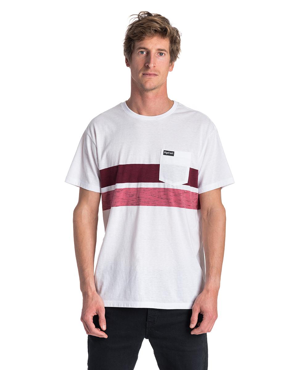 8360ec424c8b1 Stripy Slub Short Sleeve - Tee