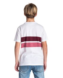 Stripy Slub Short Sleeve - Tee Boy